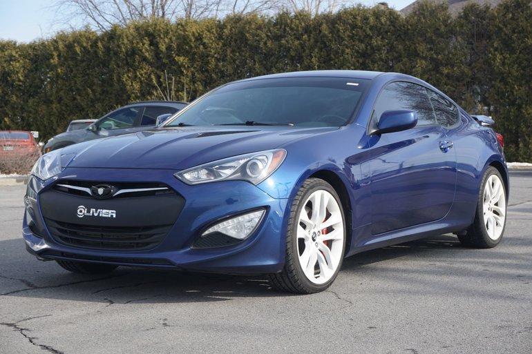 2014 Hyundai Genesis Coupe 2.0 T >> Groupe Olivier Pre Owned 2014 Hyundai Genesis Coupe Bas