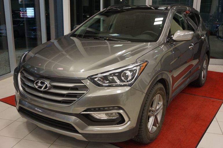 2017 Hyundai Santa Fe Sport SE-AWD-CUIR-TOIT PANO-BLUETOOTH-JAMAIS ACCIDENTÉ