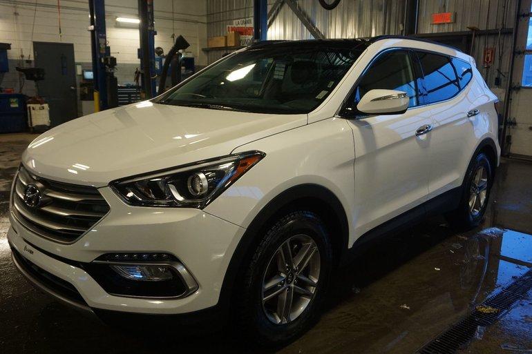 2018 Hyundai Santa Fe Sport SPORT-CUIR-TOIT PANO-VOLANT CHAUFFANT