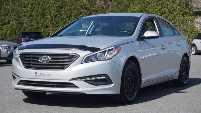 Hyundai Sonata GL-BLUETOOTH-A/C-GR.ÉLECTRIQUE-AUCUN ACCIDENT 2015