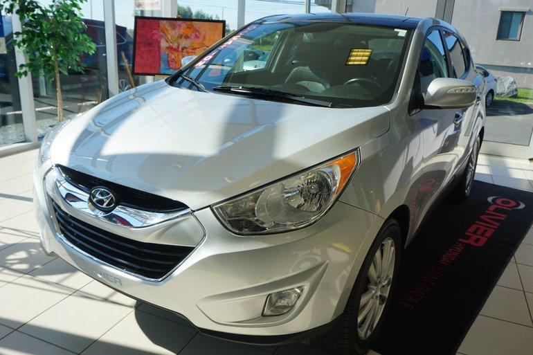Hyundai Tucson LIMITED-AWD-CUIR-TOIT PANO-BLUETOOTH-CAMÉRA 2011