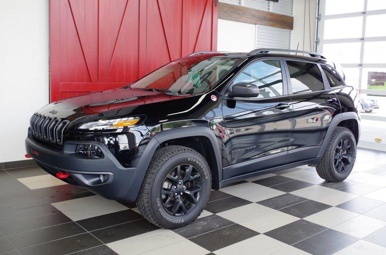 Jeep Cherokee Trailhawk, cuir. Garantie! 2018