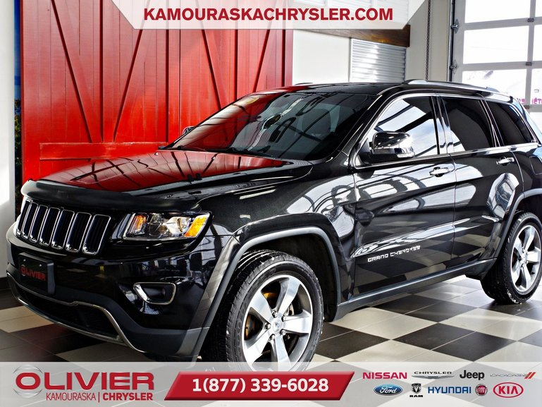 Jeep Grand Cherokee Limited, V6, TOIT OUVRANT, CUIR 2015