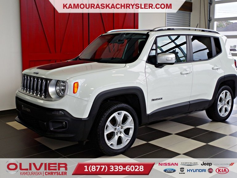 Jeep Renegade Limited, CUIR, TOIT OUVRANT, BLUETOOTH, GPS 2015