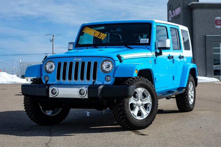 Jeep Wrangler Unlimited Chief 2017