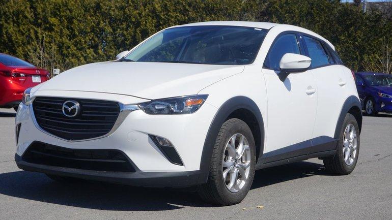 Mazda CX-3 GS-TOIT-DEMI CUIR-AWD-CAMÉRA-BLUETOOTH-TOUT ÉQUIPÉ 2019