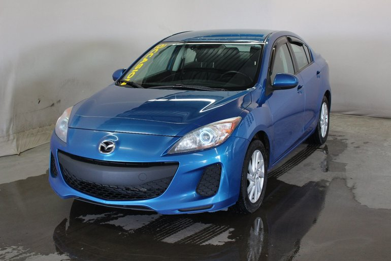 2012 Mazda Mazda3 GS-SKY; jamais accidente; bluetooth; comm vocales