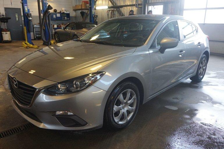 2015 Mazda Mazda3 GX-HATCH BACK-UN SEUL PROPRIO-BLUETOOTH-A/C