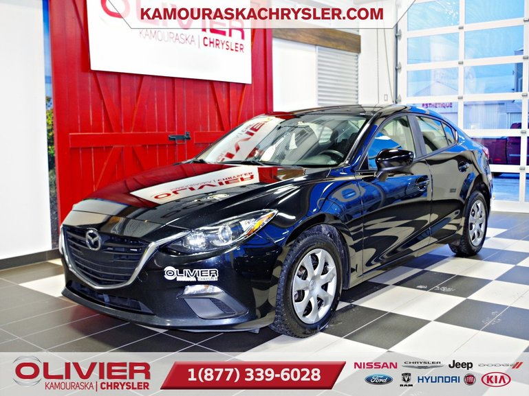Mazda Mazda3 ATTACHE REMORQUE, LECTEUR CD,BLUETOOTH 2015