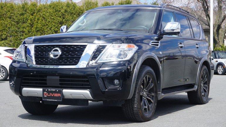 Nissan Armada PLATINUM CUIR TOIT MAG NAVI BLUETOOTH 2017