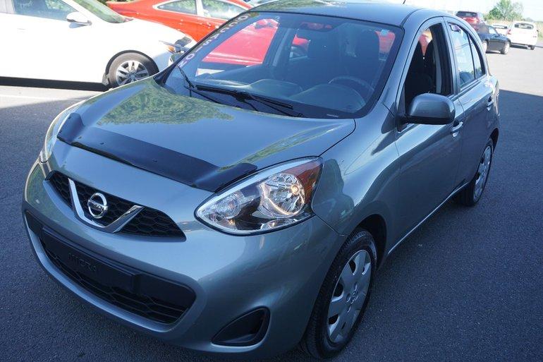 2015 Nissan Micra SV BLUETOOTH GRLECTRIQUE JAMAIS ACCIDENT