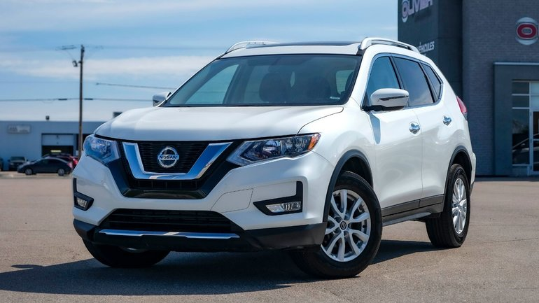 2018 Nissan Rogue >> Groupe Olivier Pre Owned 2018 Nissan Rogue Sv For Sale In