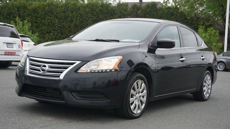 Nissan Sentra SV-BLUETOOTH-A/C-GR.ÉLECTRIQUE 2013