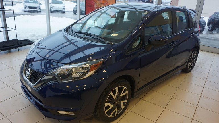 Nissan Versa Note SR-BLUETOOTH-CAMÉRA-A/C-COMME NEUF- 2017