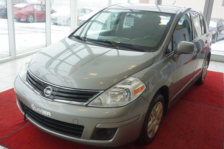 2012 Nissan Versa S-A/C-GR ELECT-UN SEUL PROPRIO-JAMAIS ACCIDENTÉ