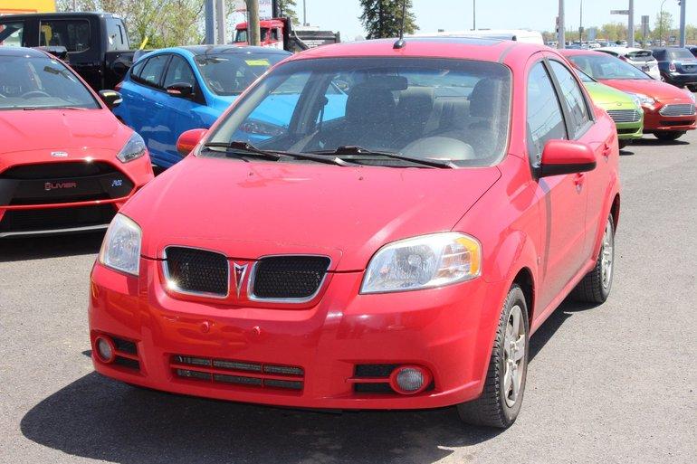 Pontiac G3 Wave SE; Tres Propre; securitaire 2009