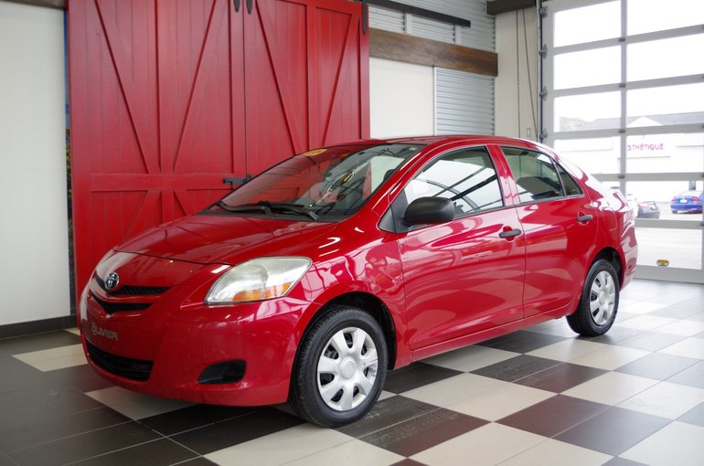 2007 Toyota Yaris SEDAN, AUTOMATIQUE, LECTEUR CD