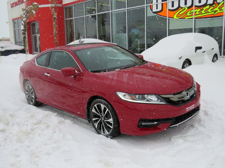 Honda Accord Coupe EX  MANUELLE 2017