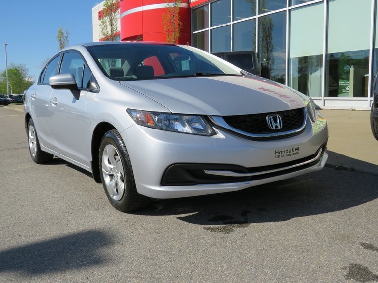 Honda Civic Sedan LX MANUELLE 2014
