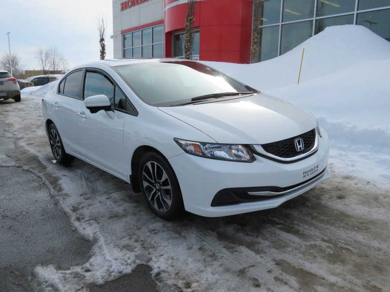Honda Civic Sedan EX  MANUELLE 2015