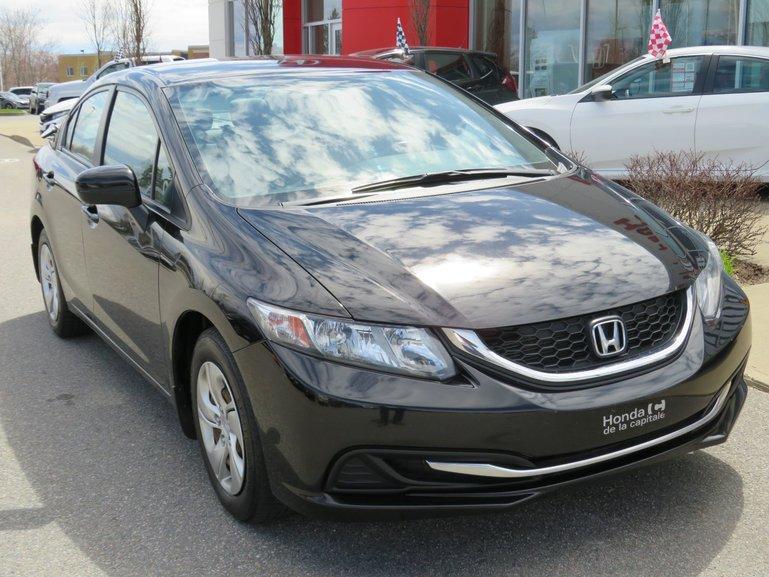 Honda Civic Sedan LX MANUELLE 2015