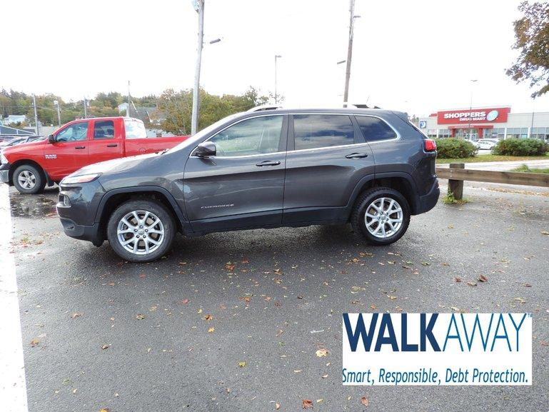 2015 Jeep Cherokee $118 B/W TAX INC.