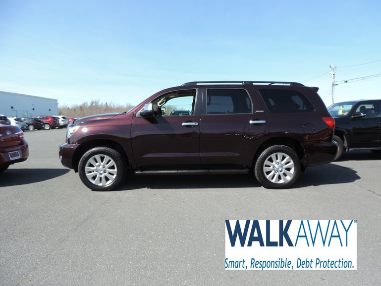 2017 Toyota Sequoia Platinum $437 BI-WEEKLY