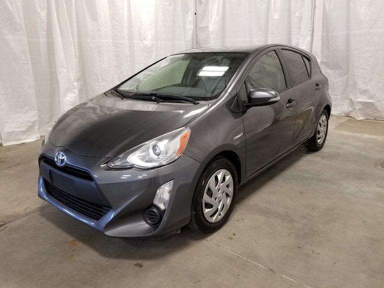 Toyota Prius C * Technology * GR ÉLECTRIQUES * 2015