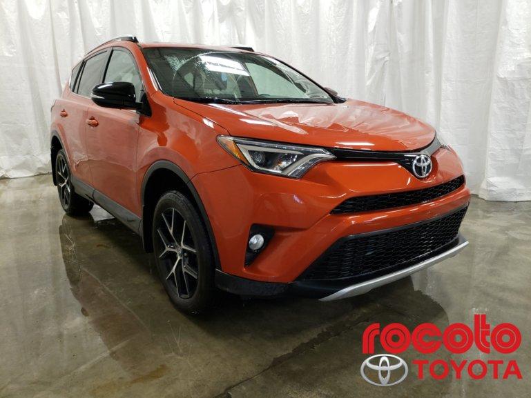 Toyota RAV4 * SE AWD * GR ÉLECTRIQUE * MAGS * CUIR * 2016