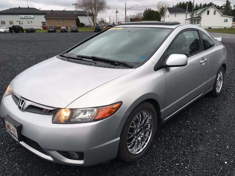 2006 Honda Civic Coupe Si 6sp