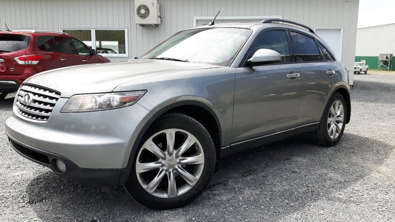 Pre Owned 2005 Infiniti Fx45 In Grand Falls Pre Owned Inventory