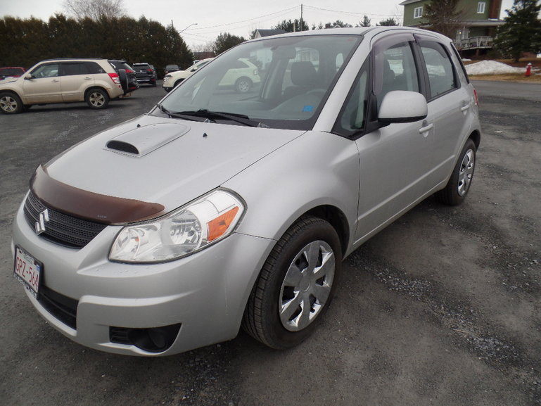 Olivier Nissan Grand Sault   Pre-Owned 2007 Suzuki SX4 for sale in