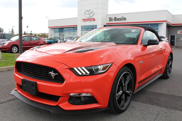 Ford Mustang GT PREMIUM CONVERTIBLE V8 5.0L MAGS GPS CAM RECUL 2016