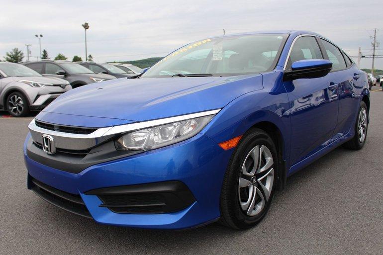 brand new 42570 06eca Honda Civic Sedan LX SIEGES CHAUFFANTS BLUETOOTH CAMERA RECUL 2016