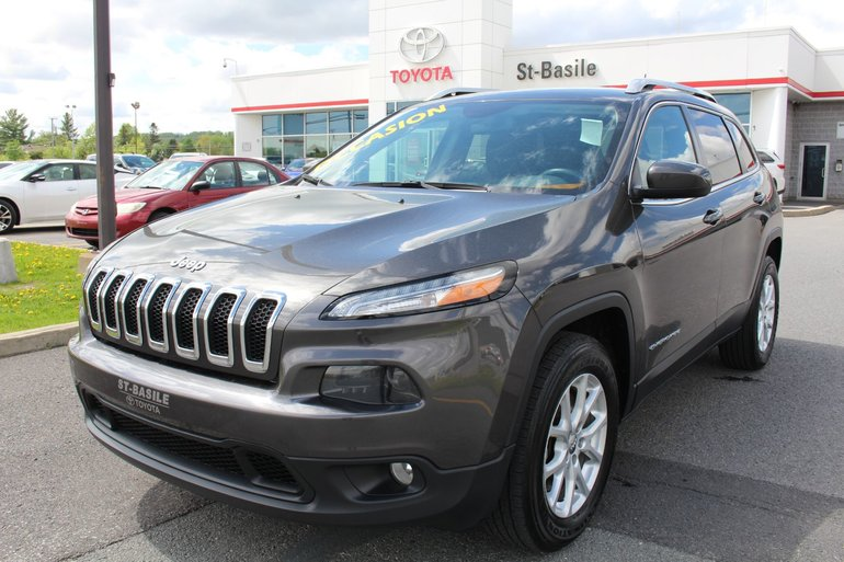 Jeep Cherokee NORTH AWD MAGS SIEGES CHAUFFANTS GPSCAMERA RECUL 2014