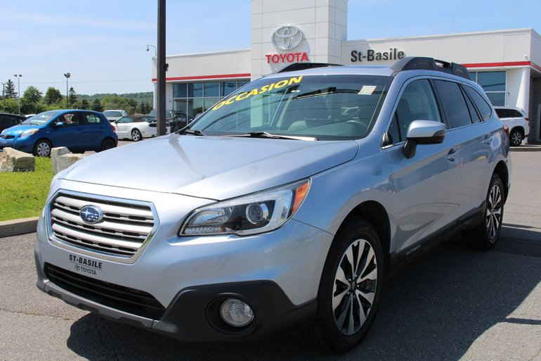 Subaru Outback 3.6R LIMITED MAGS CUIR TOIT SIEGES CHAFFFANTS GPS 2015