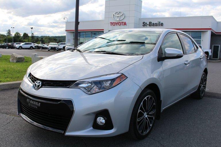 Toyota Corolla S BLUETOOTH CAMERA DE RECUL SIEGES CHAUFFANTS 2015