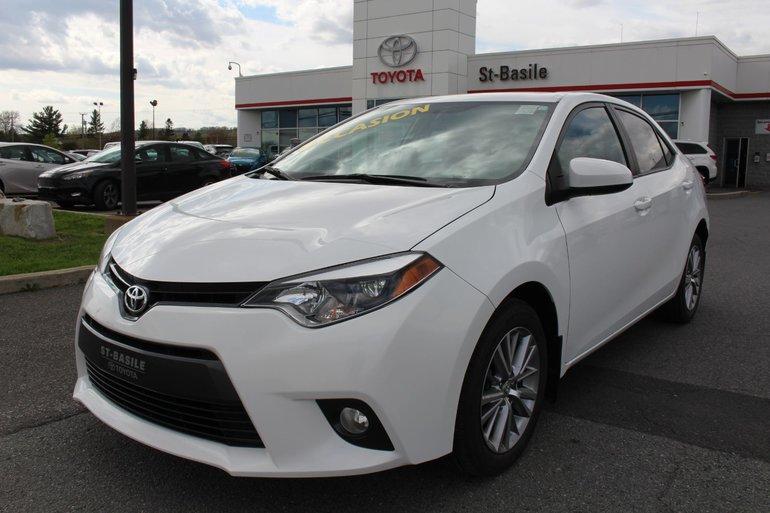 Toyota Corolla LE AMELIORE MAGS TOIT SIEGES CHAUFFANTS CAMERA 2016