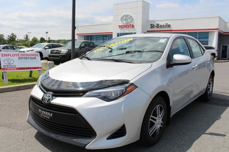 2017 Toyota Corolla CE BLUETOOTH GR. ELECTRIQUE AIR CLIM