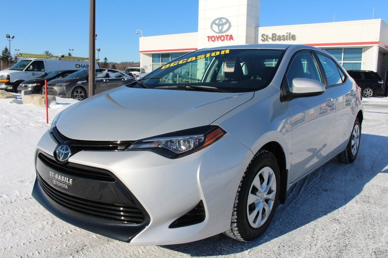 Toyota Corolla CE BLUETOOTH CAMERA RECUL A/C SAFETY SENSE 2018