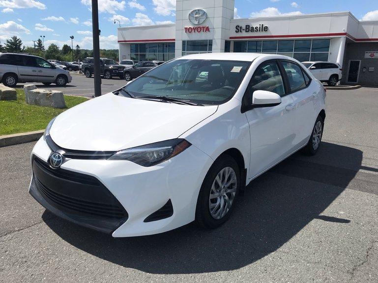 Toyota Corolla LE BLUETOOTH CAMERA RECUL SIEGES CHAUFFANTS 2019