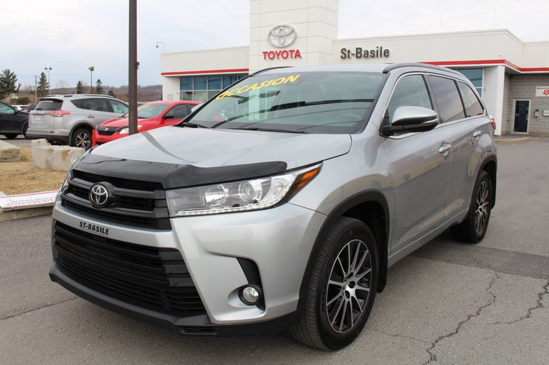 Toyota Highlander SE CUIR TOIT MAGS GPS SIEGES CHAUFFANTS 2017