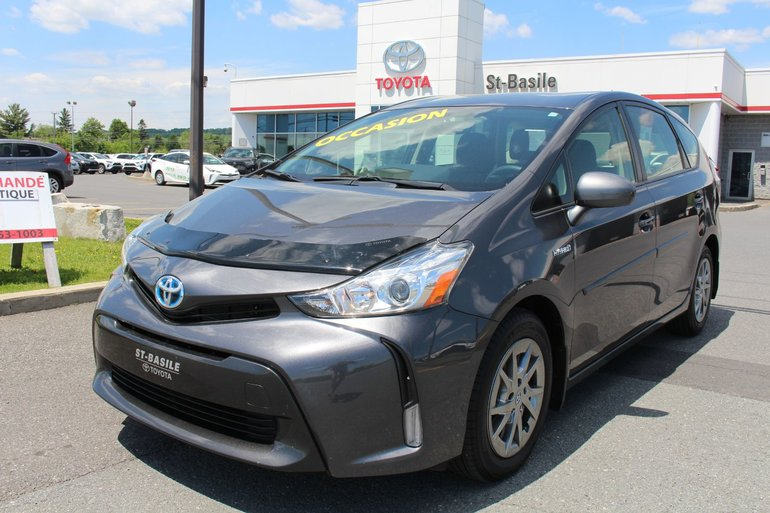 2017 Toyota Prius v Gr. ÉLECTRIQUE AIR CLIMATISE CAMERA RECUL BLUETOOTH