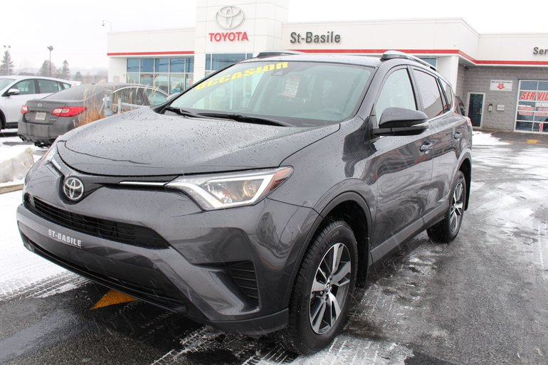 Toyota RAV4 LE AWD BLUETOOTH SIEGES CHAUFFANTS CAMERA RECUL 2018