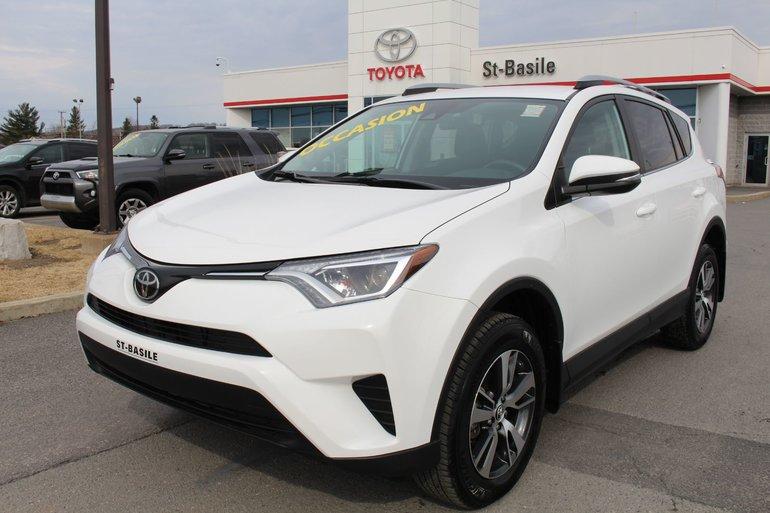 Toyota RAV4 LE AWD MAGS BLUETOOTH CAM RECUL SIÈGES CHAUFFANTS 2018