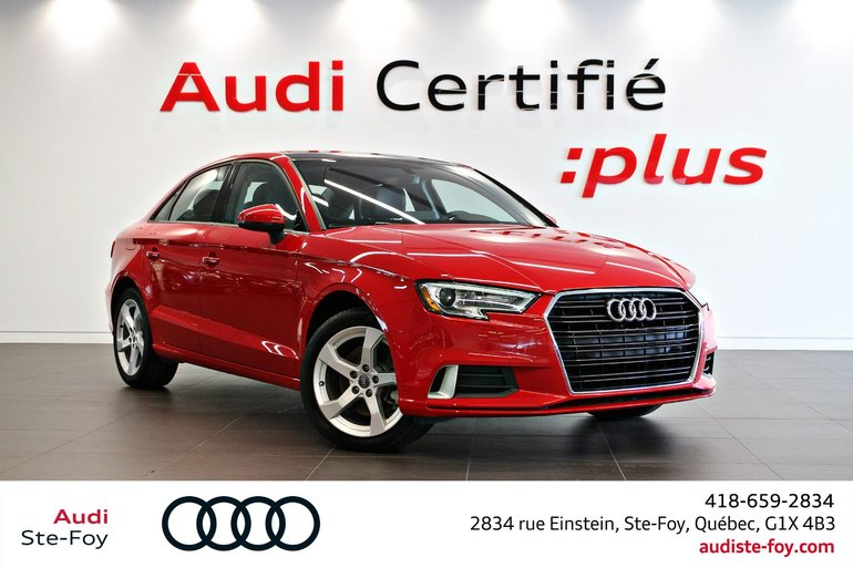 Audi A3 SEDAN Komfort- *0.9% Disponible 2019