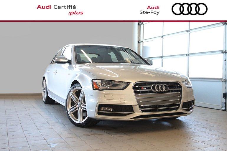 audi ste foy pre owned 2014 audi s4 technik for sale in ste foy 2018 Audi S4 2014 audi s4 technik