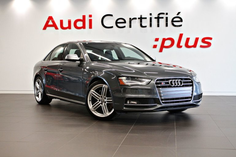 Audi S4 Progressiv plus Manuelle-*0.9% Disponible 2016