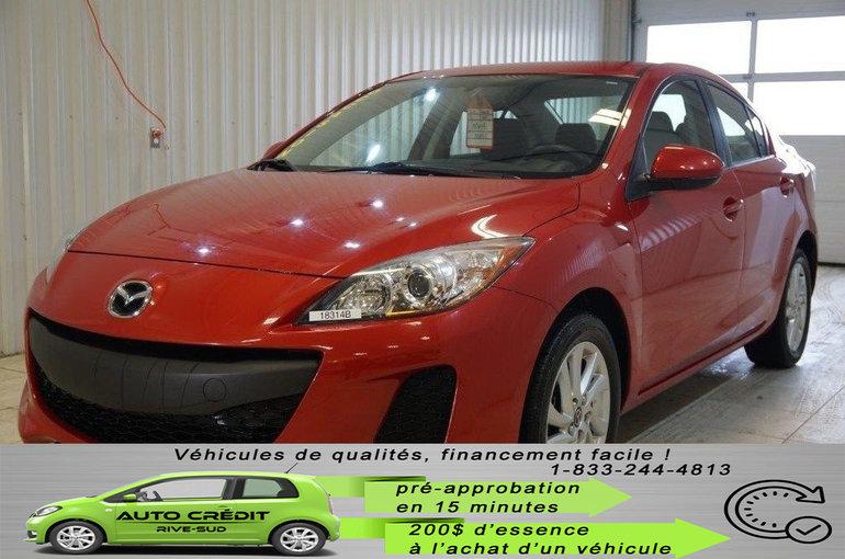 Mazda Mazda3 GX*MAGS 16*A/C*TISSUS*AUX* 2013