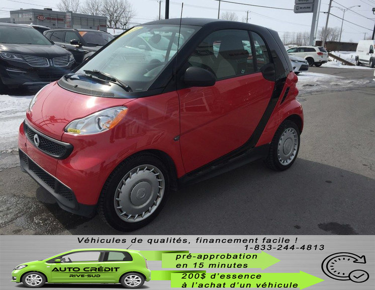 smart Fortwo Pure*CARFAX CLEAN*MAGS*2 PASS*BAS KM* 2013